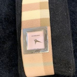 Burberry pink watch